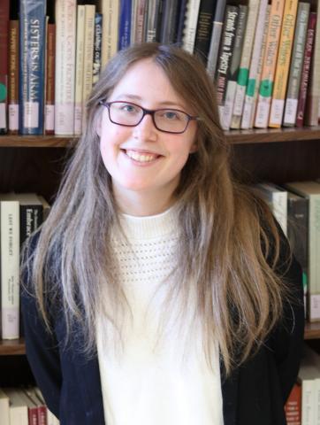 Graduate Oral History Intern Emily Banas