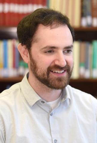 Archivist Aaron Reisberg, MLIS