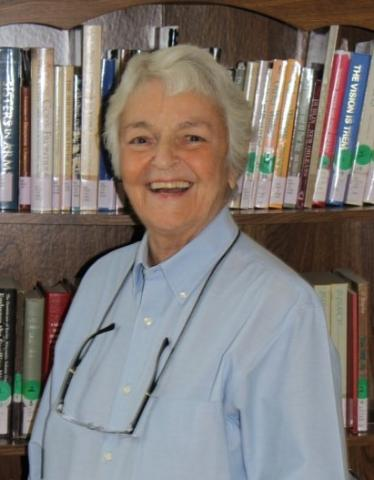 Archives Volunteer Sister Mary Kremer, OP