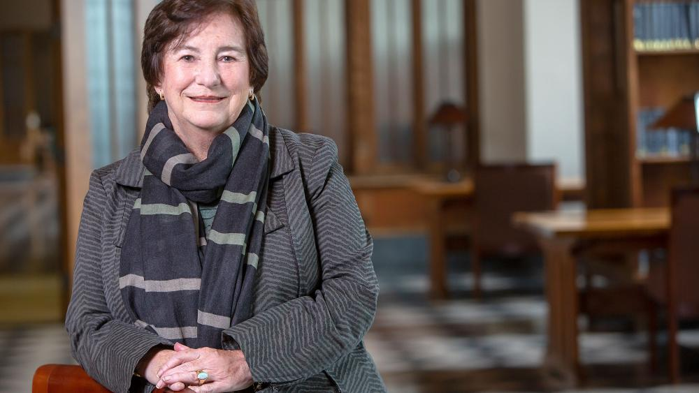 Photo of Dominican University President Donna Carroll